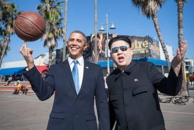 金正恩跟歐巴馬和好 相約好萊塢出遊?!