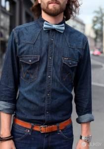 丹寧襯衫穿搭三大重點