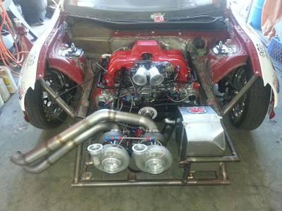 參賽費2300元 瘋狂雙渦輪BRZ1400hp