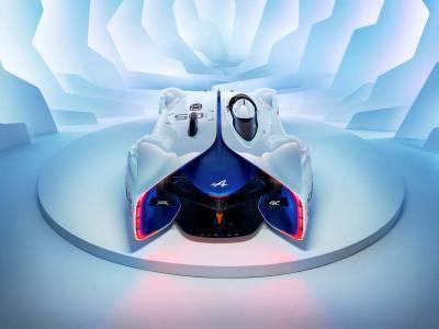 概念作品跳入現實世界Alpine Vision Gran Turismo