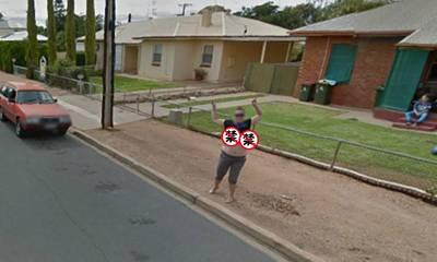超豪放人妻,竟在谷歌街景車經過時,做了這件羞恥的事!
