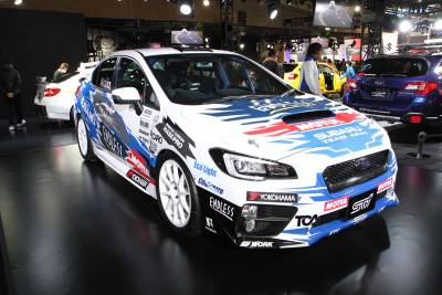 日本拉力賽廠車就位 XV Legacy B4 Blitzen概念車