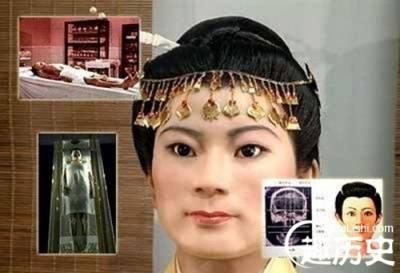 中國三大不腐女屍!乾隆最疼愛的女人美貌依舊!