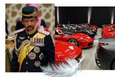 驚呆!看了汶萊國王!什麼杜拜土豪都滾邊站!他擁有七千輛名車…過著這樣的生活!