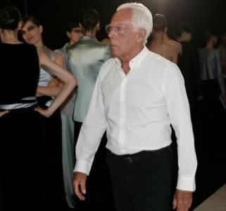 Giorgio Armani:「即使是同性戀,但男人就該有男人的樣子!」