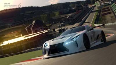 "電玩裡的真實世界Lexus LF-LC GT ""Vision Gran Turismo"""