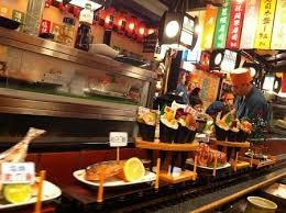 我一個人也開心的......吃壽司