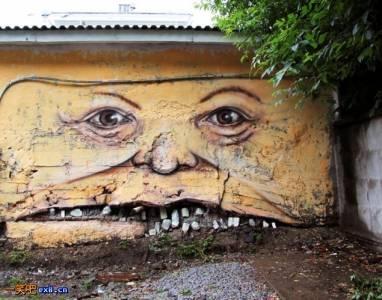 大街小巷中,總有令人會心一笑的塗鴉