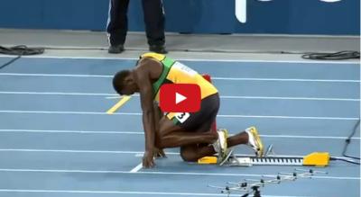 他跑步的速度到底有多誇張,看到最後會讓你說不出話!!!