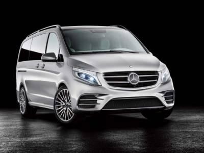 電動MPV M.Benz Concept V-ision e