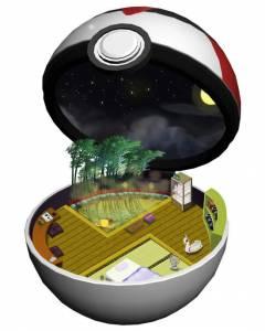 《神奇寶貝》寶貝球裡的世界會是甚麼樣子的呢
