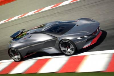 Peugeot摻一角 全新Vision Gran Turismo概念車虛擬亮相