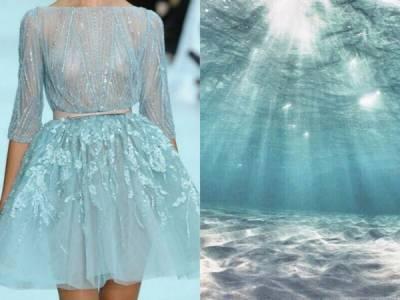 超強設計師,把美景化作美衣…每一件都好美啊!