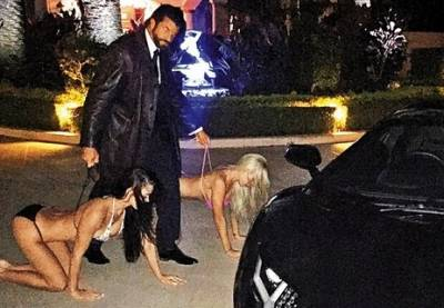 澳洲富豪把比基尼辣妹當狗來「遛」!大吃「女體盛」,背後的原因竟然是這樣。。。