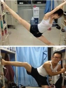 女神跟魯蛇跳芭蕾有什麼不一樣~