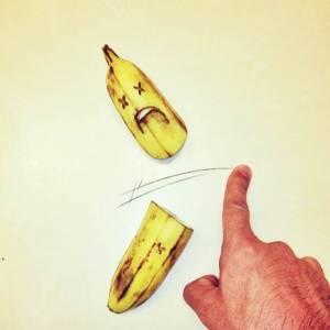 善用實體與平面插畫:手指忍者龜!