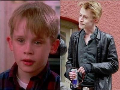 電影「小鬼當家」可愛的男主角,如今暴瘦有如老頭一般