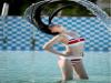 我想要再泳池製造飄逸動感的效果