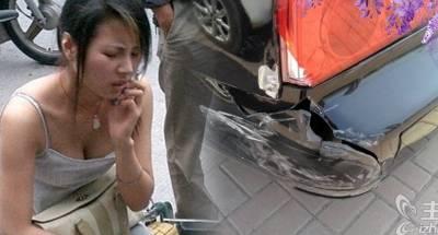 美麗老婆撞了名車,本想撇下不管她,車主說了一句話後,我馬上飛奔去找她!