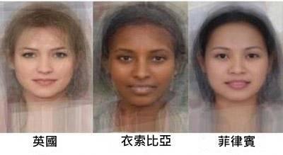 世界各國女性的平均長相!你覺得哪一國最正?