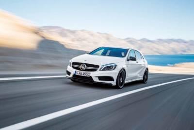 市售最強400匹預告 M.Benz A45 AMG