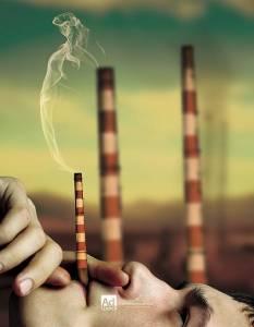 創意禁煙廣告(多圖)請轉給你愛的煙槍~提醒他健康的重要