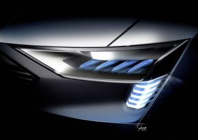電能入侵SUV Audi e-tron Quattro Concept