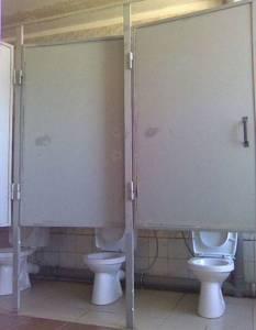 這廁所是哪個天才設計的?XD