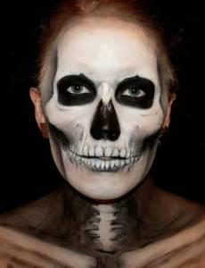 嚇死人不償命的驚悚臉部彩繪