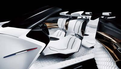 法式美學與科技絕佳展示 Peugeot Fractal