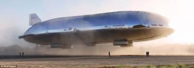 美國公司研製新式巨型飛艇:可載重250噸