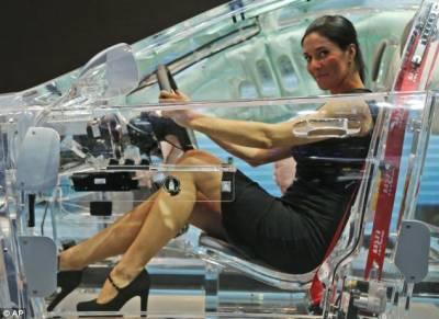 透明車亮相法蘭克福車展