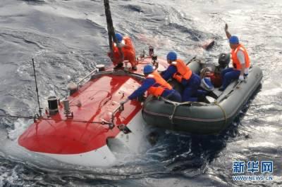 蛟龍號首個試驗性應用航次首潛順利完成