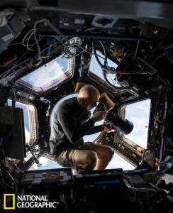 一周太空圖:宇航員全景窗口拍攝地球美景