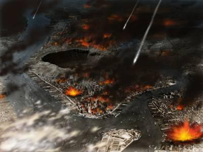 藝術家描繪地球末日景象