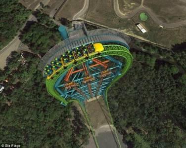美擬建世界最高跳樓機:落差126米相當41層樓