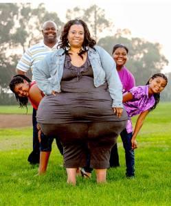 美國女子臀部世界最大:臀圍超2米