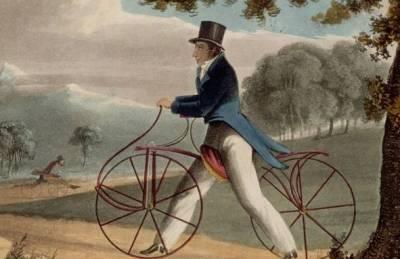 德國設計師設計無座無踏板自行車