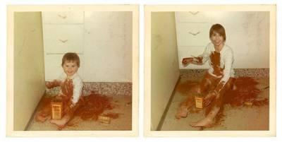 時光隧道!把你放回小時候的照片去吧!!