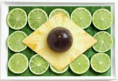 澳洲公司用各國美食製作誘人國旗