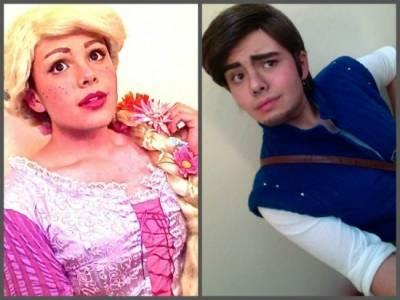 雌雄難辨:服裝設計師既扮公主又演王子