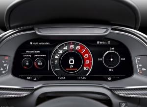 Audi A3三月小改,內裝導入R8「虛擬平面化12.3吋儀表板Virtual Cockpit」