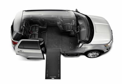 Ford「Explorer」將成全球「首輛」可讓輪椅族「自行駕駛」的SUV福祉車!