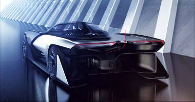 電動超跑概念 Faraday Future FFZERO1