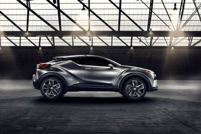 要讓Honda HR-V殺手在日內瓦露臉,Toyota C-HR正式量產版即將登場