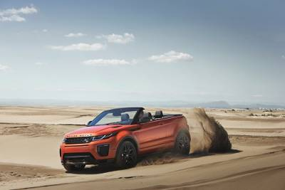 Jaguar F-Pace F-Type SVR Range Rover Evoque Convertible Range Rover Sport SVR大軍壓境!