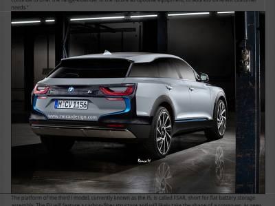 BMW純電「i5」確定將出增程(內燃機引擎輔助)版本,級距定位將是跨界休旅?