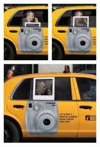 拍立得的有趣廣告
