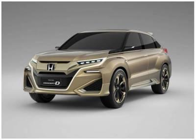 土豪限定?中方本田將推旗艦SUV「UR-V優威」,並預計搭載2.0渦輪引擎